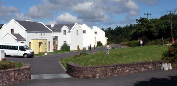 Front gardens of Achill Cottages