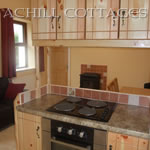 View of kitchen at Katies Cottage