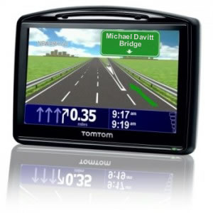 TomTom satellite navigation device